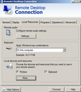 Local_Remote_Desktop_connection_client_Local_Resources